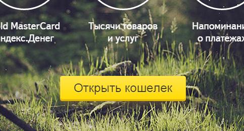 Как открыть счёт Яндекс Деньги