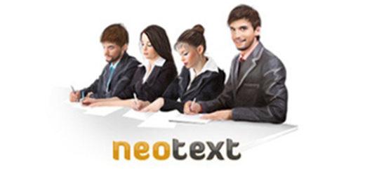 Секреты заработка на neotext